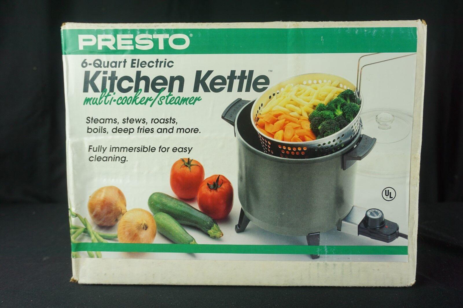 Presto Kitchen Kettle 6 Quart Electric Multi Cooker