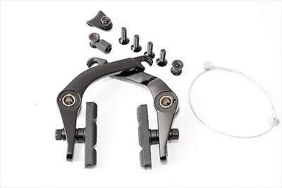 PROMAX BMX U-Brake U-Bremse Aluminium Schwarz eloxiert für Vorne und Hinten
