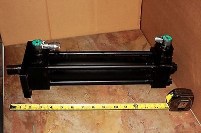 Parker Hydraulic Cylinder Series 2h Bore 2.0 Stroke 9.0 Rectangle Head