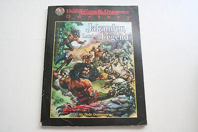 ROLLENSPIEL: AD&D: JAKANDOR; LAND OF LEGEND, Quellenbuch + Abenteuer, TSR, Ro3