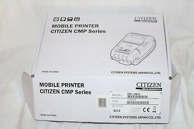 Citizen Cmp-20btu Bluetooth Printer Brand New Sealed Rare Complete Great Price
