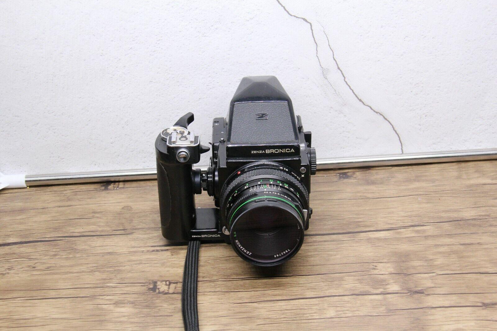 Zenza Bronica ETRS Medium Format 120 SLR Camera w/ Zenzanon EII 75mm F2.8  READ