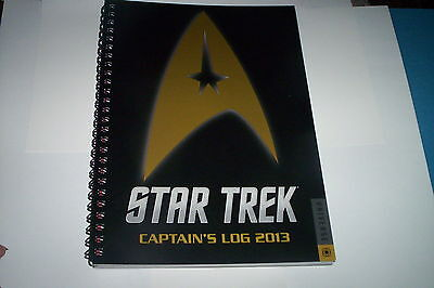 Star Trek Captain's Log 2013 Calendar/Planner~Quotes~Set Pictures~Information on Rummage