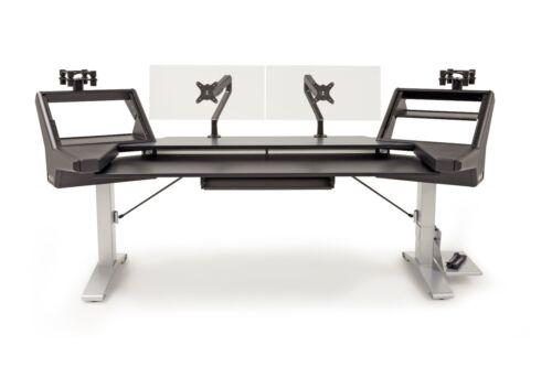 Argosy Halo.k88 Ultimate Workstation Desk | Halo-k88-xc-b-s | Pro Audio La