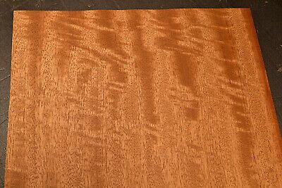 Mahogany Raw Wood Veneer Sheets 12 X 46 Inches 142nd 7718-32
