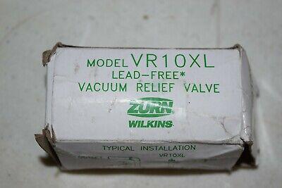 Zurn Vr10xl Lead-free Vacuum Relief Valve