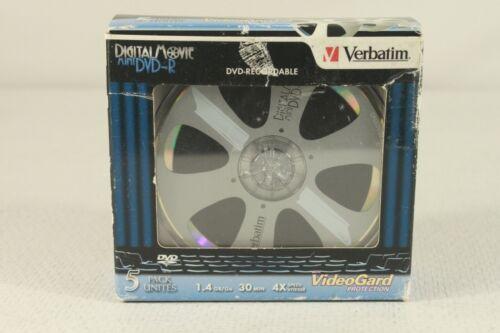 VERBATIM mini DVD-R digital movie discs -pack of 5. (ref D 397)