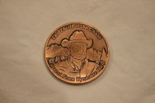 The Thrill of the Chase Forrest Fenn COPPER COIN #557 Hidden Treasure