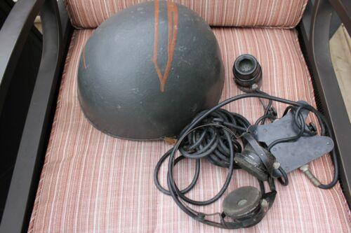 US NAVY WW2 TALKER HELMET*Chest Talker/Headset*US Instrument Corp*DR No A-260