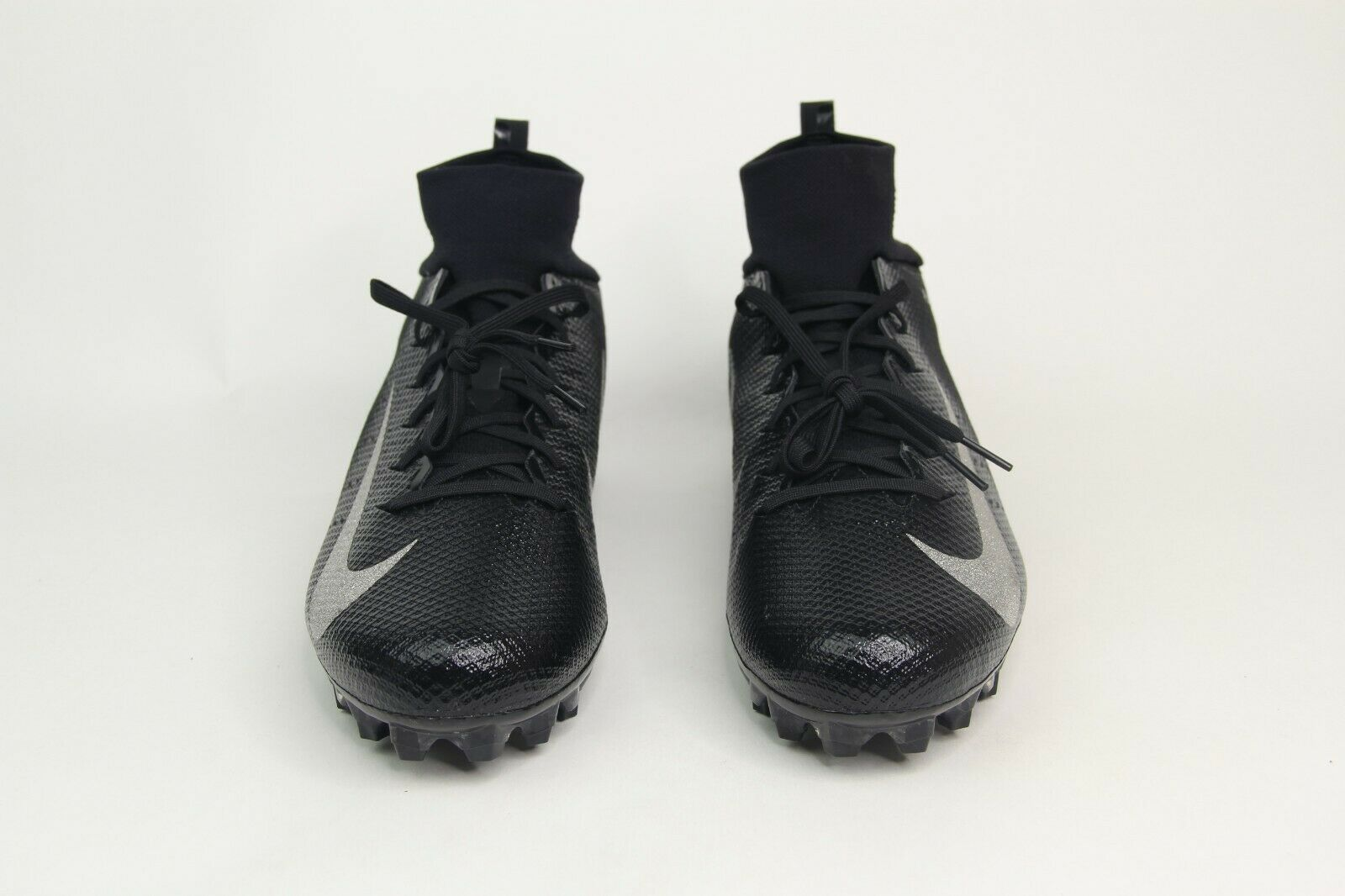 Nike Vapor Untouchable Pro 3 Football Cleats Black Silver 91