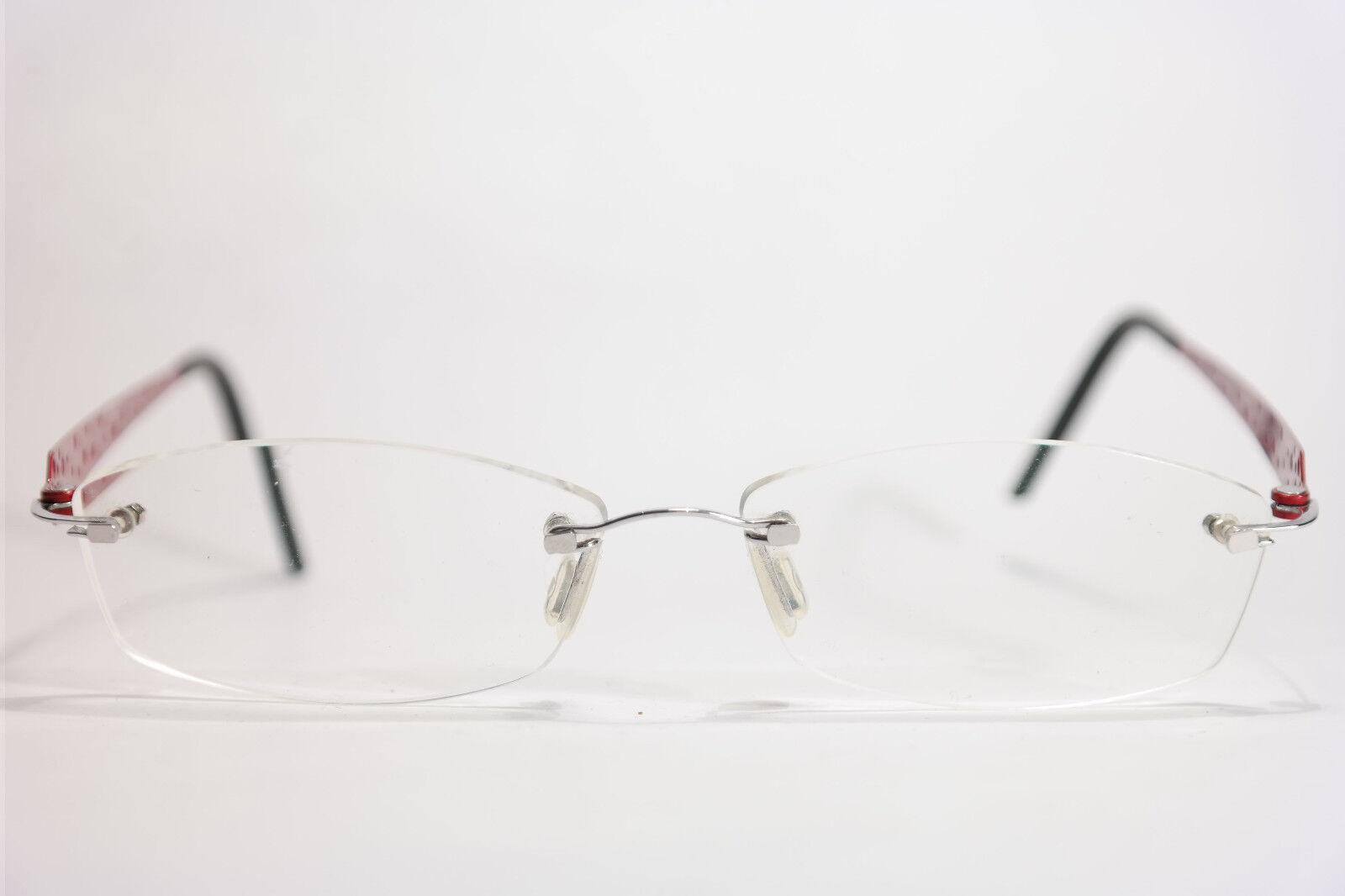 Minima  50[]20 150 Rot randlos Brillengestell Brille eyeglasses