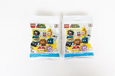 LEGO 71361 Super Mario Blind Bag Mystery Packs Fast Ship Lot of 2 Sealed
