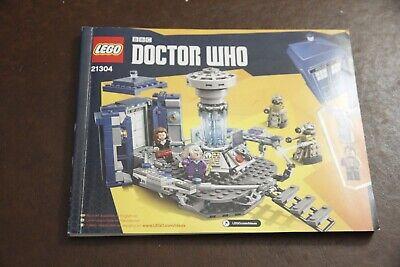 LEGO Ideas #21304 Doctor Dr Who instruction book manual ONLY no bricks EX TARDIS