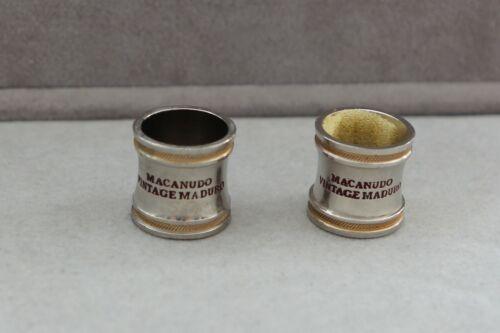 1997 Macaduno Vintage Maduro (2) Cigar Band Ring, U.S. Size 11 1/2 Very Nice!