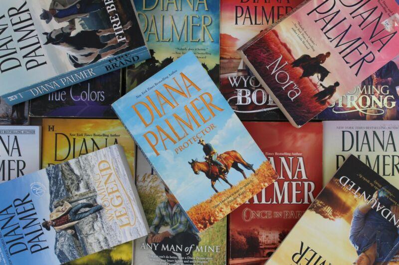 Lot of 10 Diana Palmer Romance Mass Market Paperback Books MIX