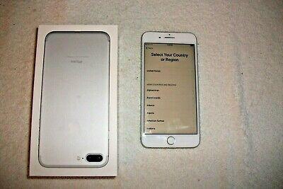 Apple iPhone 7 Plus - 128GB - Silver (Unlocked) A1784 ORIGINAL AT & T