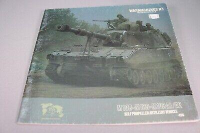 ZE679 VERLINDEN RECUEIL PHOTOS WARMACHINES N°1 CHARS M108-M109 REF 496 BE