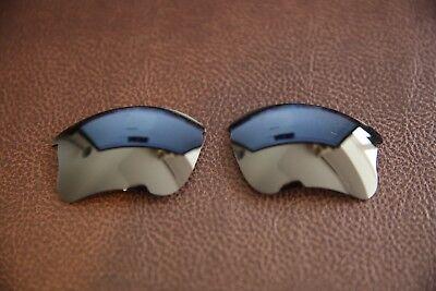 PolarLenz Polarized Black Replacement Lens for-Oakley Flak Jacket XLJ sunglasses