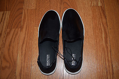 NEW Womens KENNETH COLE Slip On Black Keena Loafer Shoes Size 8.5