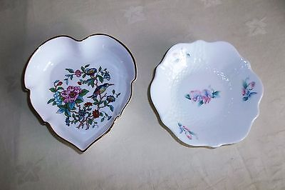 2 x Aynsley Pin Dishes.