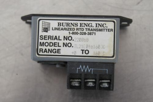 BURNS ENG TL21 0-160 LINEARIZED RTD TRANSMITTER