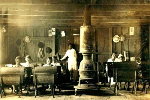 African-American School in Anthoston Kentucky-1916-4x6 Photo