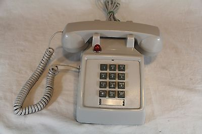 ASH Desk Phone with Data Port, Red Light & Volume Control - Made in China