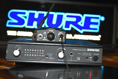 Shure PSM600 Wireless Professional Ear Monitor System HA HB HC HD HE