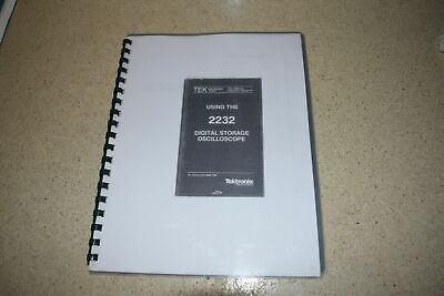 Tektronix 2232 Digital Storage Oscilloscope Manual M271