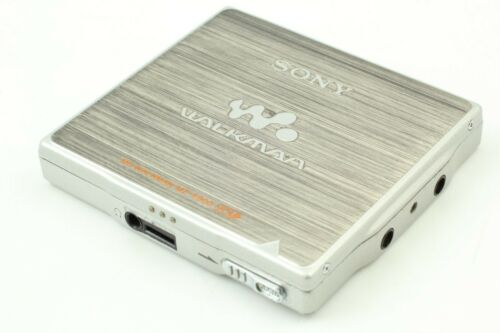 【MINT】Sony Portable MiniDisk MD player MZ-E900 w/ MD Sound Great From JAPAN #755