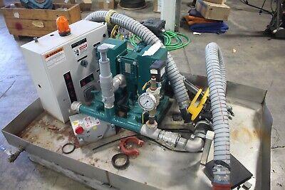 Wastecorp Mud-sucker Diaphragm Pump 2fac-ec-00 W Sew Eurodrive Motor