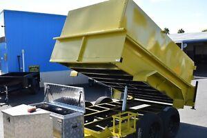 HYDRAULIC TIPPER TRAILER 2800 KILO RATED $8990 Morphett Vale Morphett Vale Area Preview