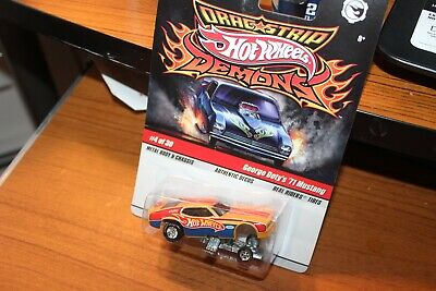 2008 Hot Wheels-George Dotys '71 Mustang Dragster-Dragstrip Demons - Real Riders