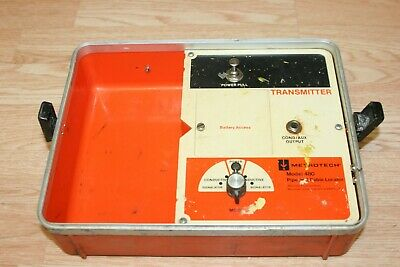 Metrotech 480 Cable Pipe Locator Transmitter Only - Works Great