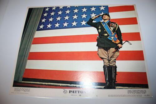 Patton 11x14 Color Lobby Card 1970 George C Scott Karl Malden Original