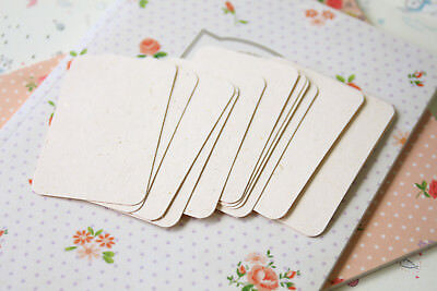 Straw Cream Inclusions Business Cards ATC craft DIY wedding name place cards - Diy Place Cards