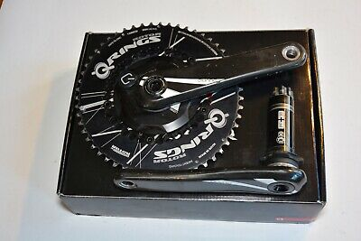 Quarq Riken Power Meter with Rotor Q-Rings 54/42T, BB30/PF30, 172.5mm, Serviced, used for sale  Shipping to South Africa