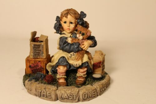 """1998 Boyds Collection """"Jamie and Thomasina... The Last One""""  Yesterdays"""