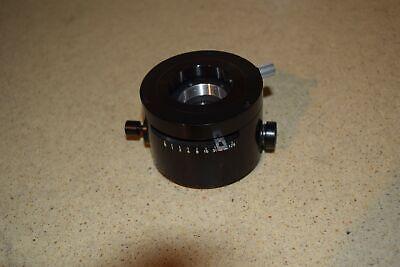 Leitz Wetzlar Leaf Shutter Microscope Camera Attachment Hv