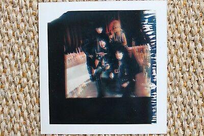 Motley Crue Nikki Sixx Mick Mars Tommy Lee Theatre Of Pain Polaroid Album Photo