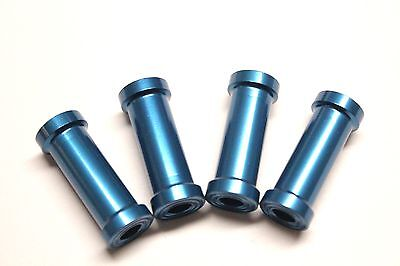 1set (4pcs) CNC Aluminum Alloy engine mount standoff D12xΦ5x30mm US SELLER/SHIP Aluminum Engine Mount Set