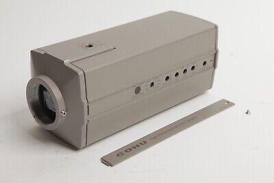 Cohu 4912 - 2010 Monochrome High Performance Ccd Camera 12v Genlock 30mm Mount