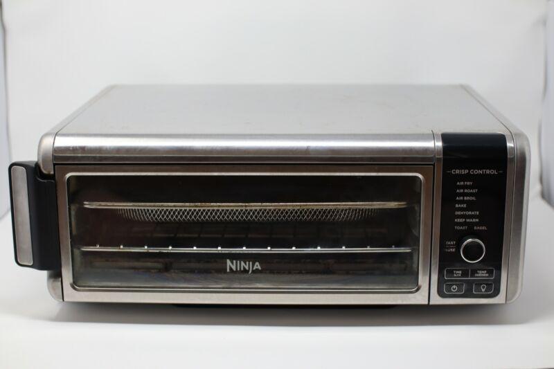 Ninja SP101 Foodi 8-in-1 Digital Air Fry XL Toaster Oven Stainless Flip Away