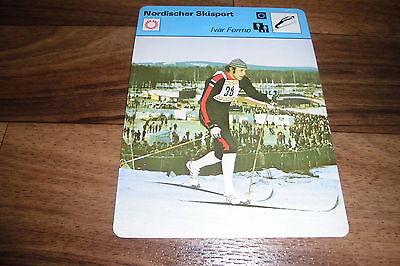 IVAR FORMO / Nordischer Skisport -- Editions Rencontre S.A. Lausanne 1978