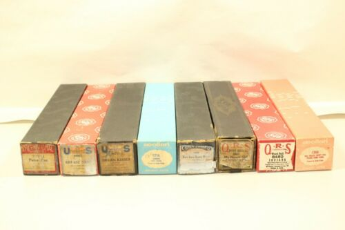 Lot of 8 Vintage Player Piano Music Rolls