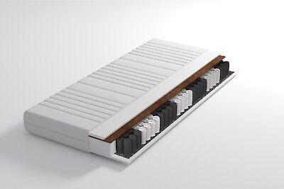 7 Zonen Taschenfederkern Matratze TITANIUM Pocket Kokos 140x200 H3+H4