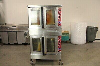 Blodgett Dfg-200 Double Full Size Commercial Gas Convection Oven 60k 80k Btu