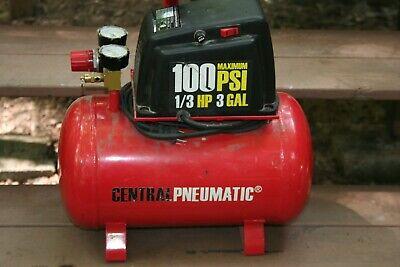 3 Gallon Electric Portable Air Compressor 100psi 13 Hp