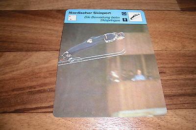 BEWERTUNG SKISPRINGEN Nordischer Skisport Editions Rencontre S.A. Lausanne 1977