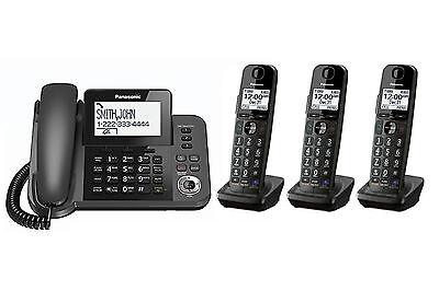 PANASONIC KX-TGF350M DECT 6.0 Digital Cordless Answering System with 3 Handset